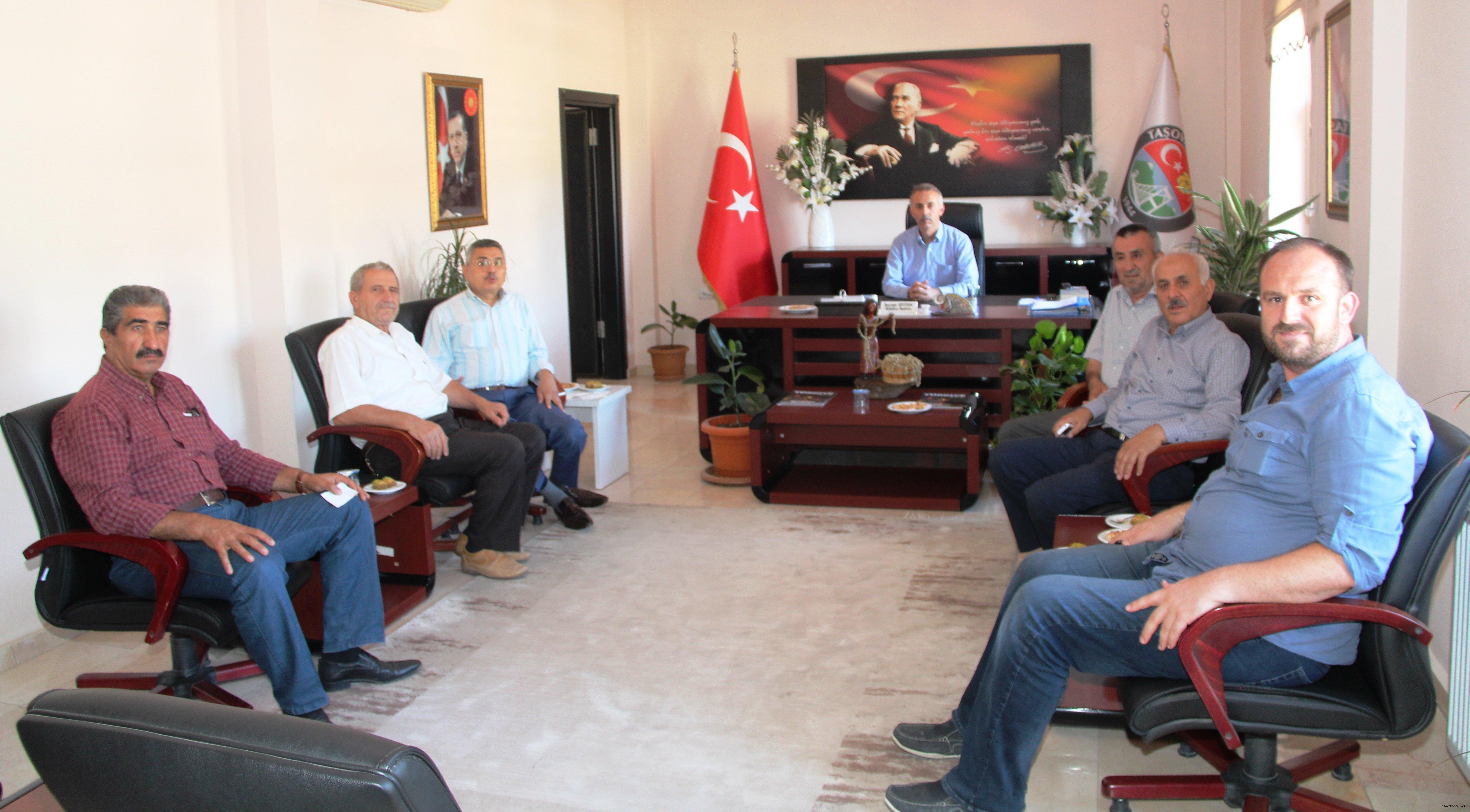 Akif Gülle Belediyeyi Ziyaret Etti