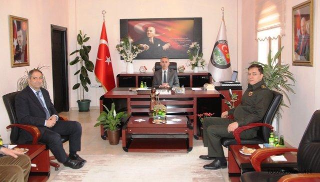 Başkan Öztürk'e Ziyaret