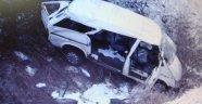 Taşova'da trafik kazası 6 yaralı