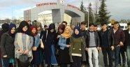 İmam Hatip Lisesi YGS Öncesi Ondokuz Mayıs Üniversitesine Gezi Düzenledi