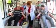 Taşova kan bağışlıyor kampanyası