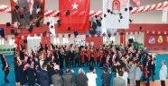 Taşova Yüksel Akın  Meslek Yüksek Okulunda Mezuniyet Heyecanı