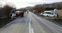 Taşova'da trafik kazası 3 yaralı