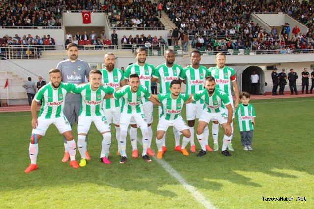 Y.Amasya Spor Lige Galibiyetle Başladı